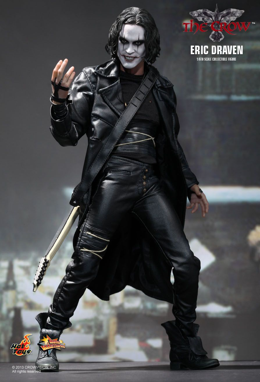 Toys For 6 : News hot toys the crow eric draven scale figure