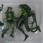 News – NECA Aliens Hudson Vs. Xenomorph Warrior Packaging Layout