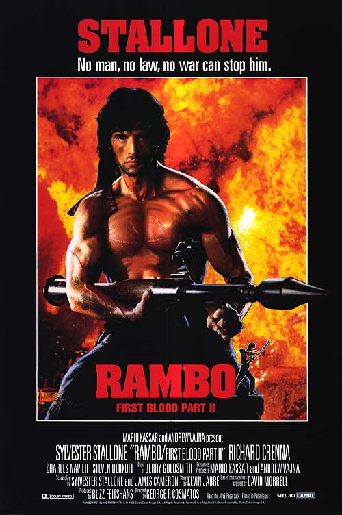 News - NECA Rambo First Blood Part 2 Figures Coming in ...