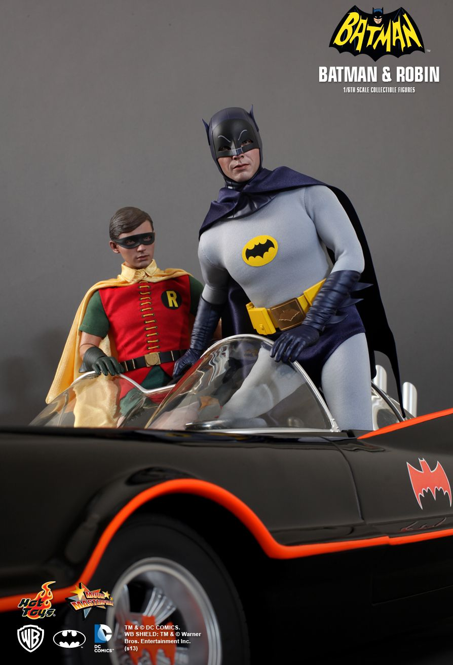 News Hot Toys 1966 Batman And Robin 1 6 Scale Official