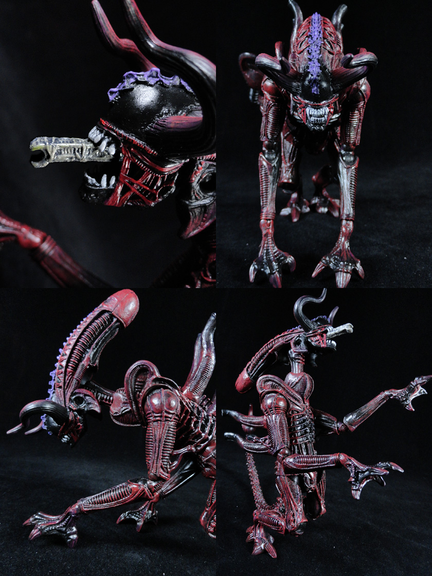 Custom Bull Alien Xenomorph (Kenner Style) Action Figure
