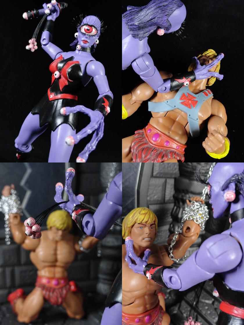 Custom Eye-Lash Masters of the Universe Classics Action Figure