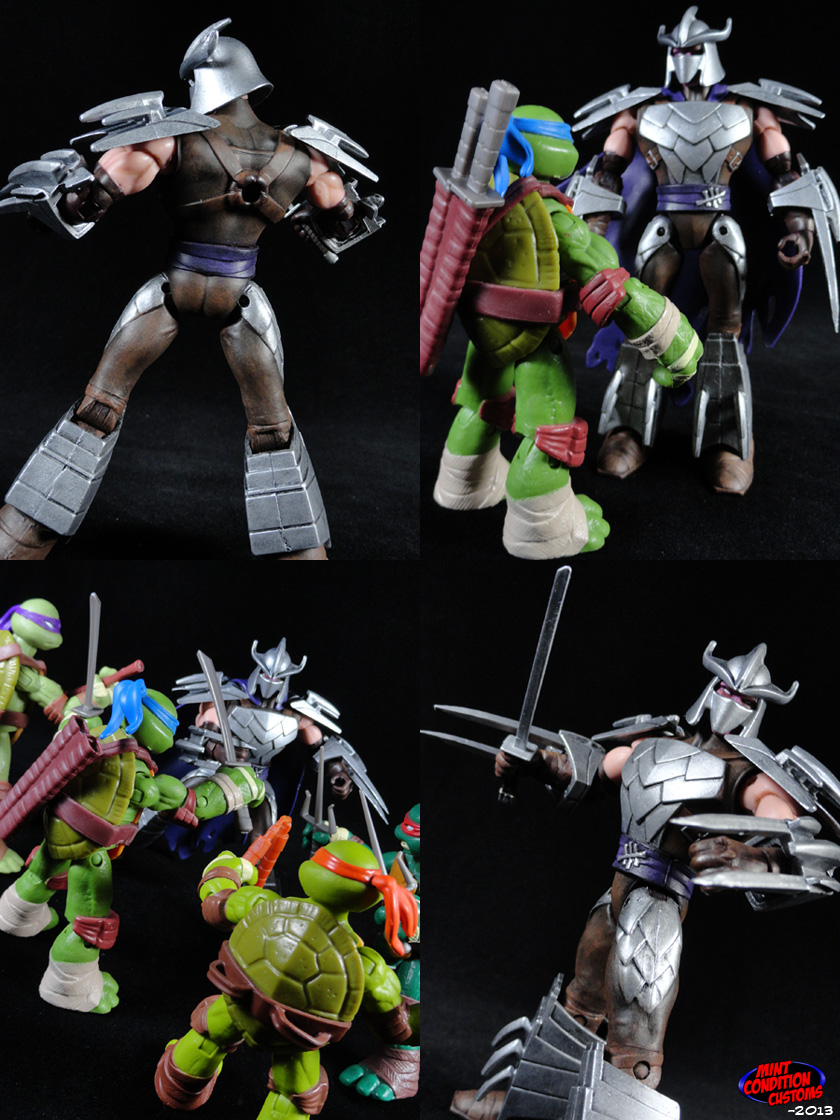 Custom Shredder Nickelodeon Teenage Mutant Ninja Turtles Action Figure