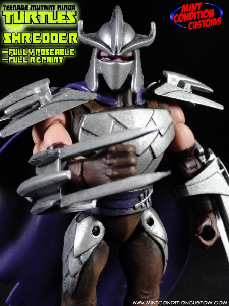 The Shredder Fully Poseable Nickelodeon Tmnt Style Toy Discussion At Toyark Com