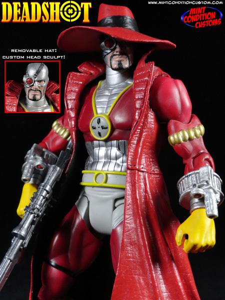 "Custom Deadshot (Gotham Knight) 6"" DC Universe Action Figure"