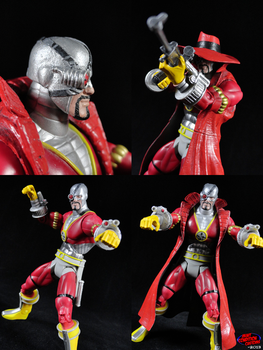 "Custom Deadshot (Gotham Knight) 6"" DC Universe Action Figure"