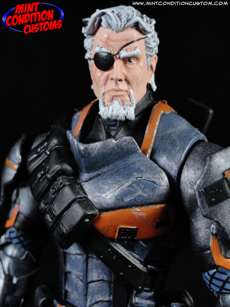 custom deathstroke arkham origins action figure toy
