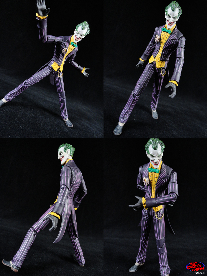 Custom Joker (Arkham Asylum) w/ Added Articulation DC Universe Action Figure