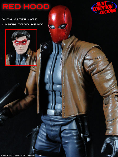 Custom Red Hood (Jason Todd) 6″ DC Universe Action Figure – Created January 5th, 2014