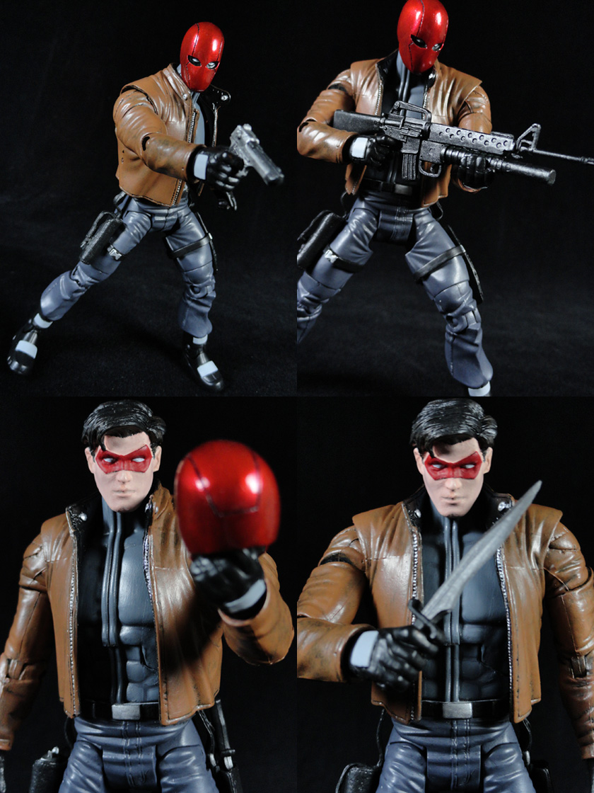"Custom Red Hood (Jason Todd) 6"" DC Universe Action Figure"