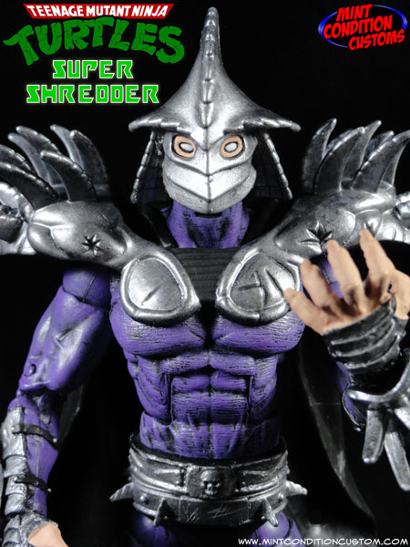 Custom Super Shredder (Movie Style) TMNT Action Figure