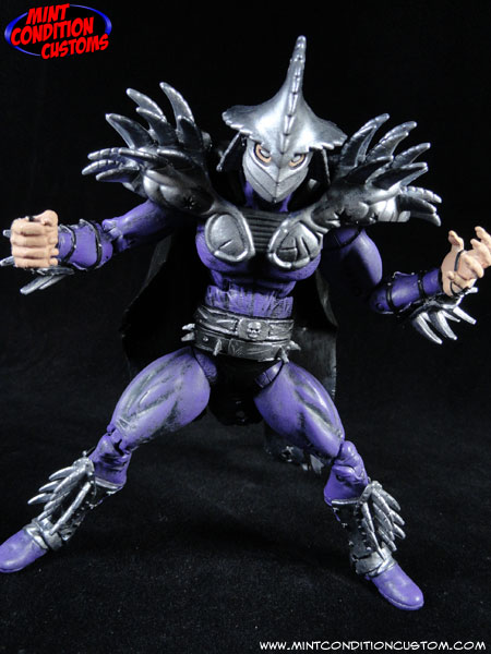 Custom Super Shredder (TMNT Movie Style) Figure - Toy ...