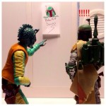ACBA of the Day – Han Solo Displays His New Artwork by Chevy2who