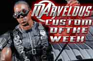 Marvelous Custom of the Week - Movie Marvel Legends Faclon Action Figure by John Harmon Mint Condition Customs