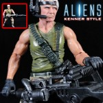 New Custom Figures – Kenner Style Aliens Drake, SNES AVP Bat Alien