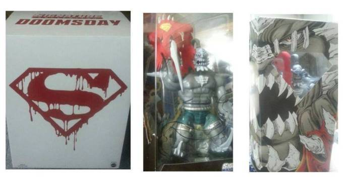News Dc Universe Classics Doomsday Unleashed Will Be You Get The Idea Mint Condition Customs