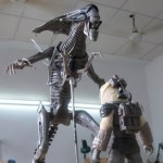 News – NECA Aliens Queen & Dog Alien BTS Test Shots