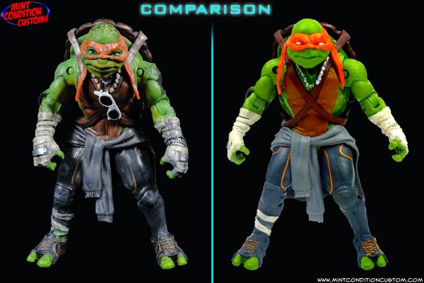 Where Can I Find Ninja Turtle Toys : Teenage mutant ninja turtles movie accurate repaints