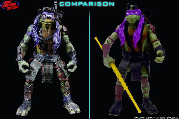 teenage mutant ninja turtles 2014 movie accurate repaints