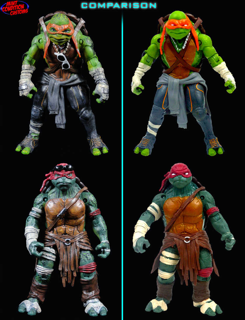 Custom Teenage Mutant Ninja  Tmnt