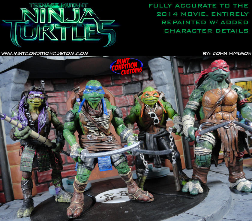 Tmnt Build A Bear Weapons Set Of