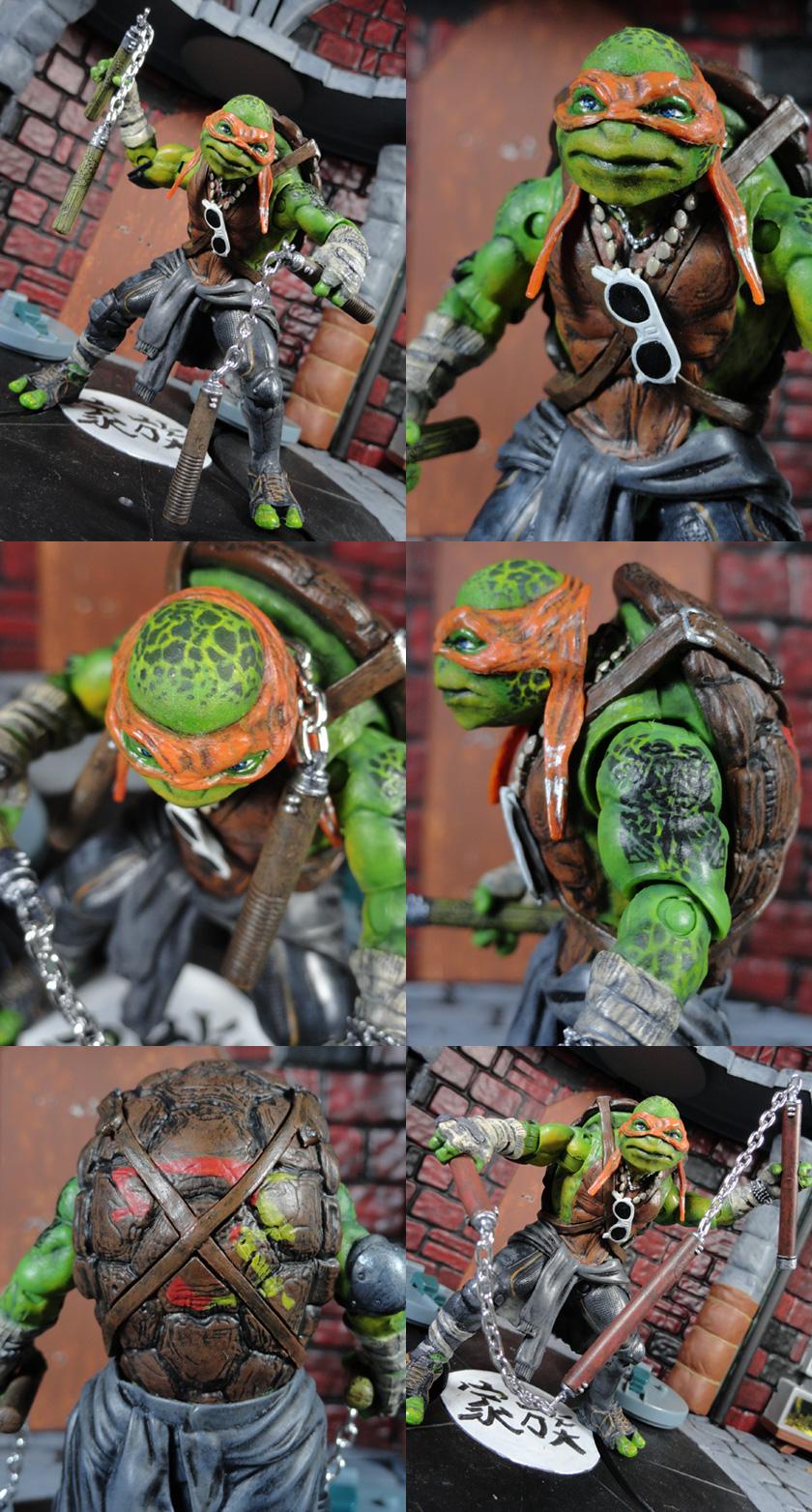 Where Can I Find Ninja Turtle Toys : Custom teenage mutant ninja turtles movie accurate