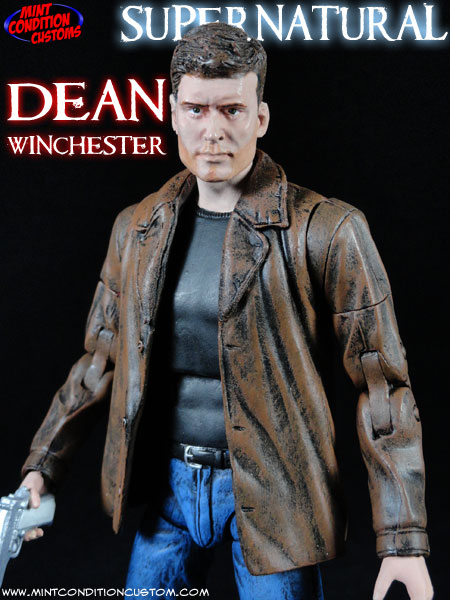 Custom Supernatural Dean Winchester 6″ Action Figure