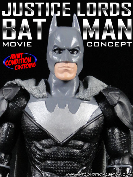 Custom Justice Lords Batman (Movie Concept) 6