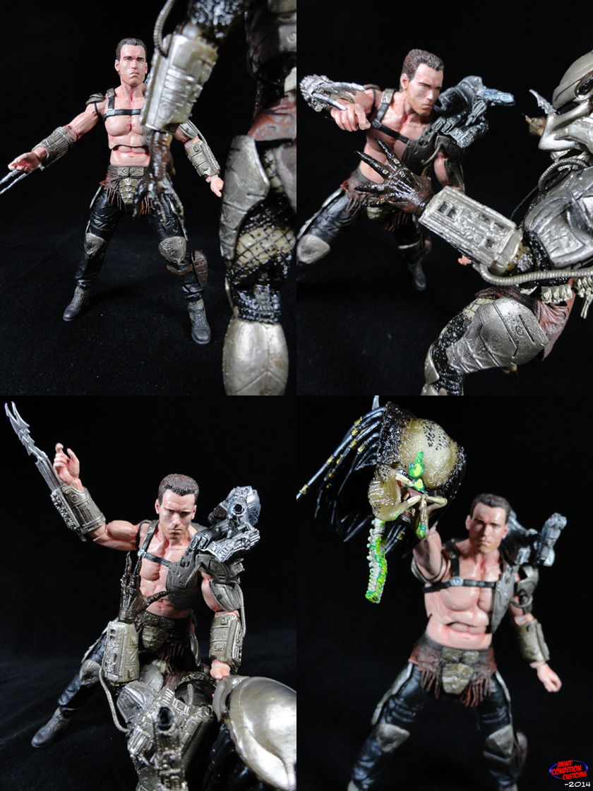 Predator Armor Dutch Schaefer NECA Custom Action Figure