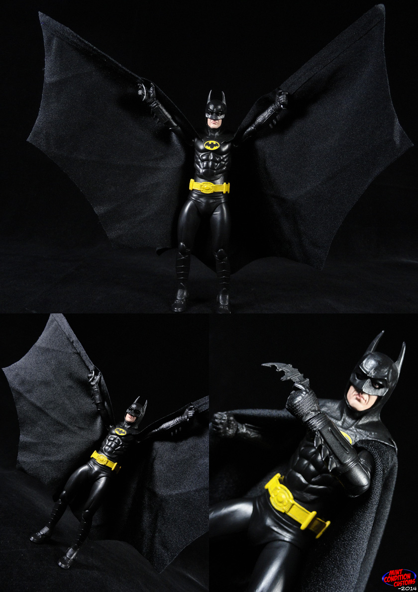 Custom Batman 1989 Movie Style DC Universe Action Figure