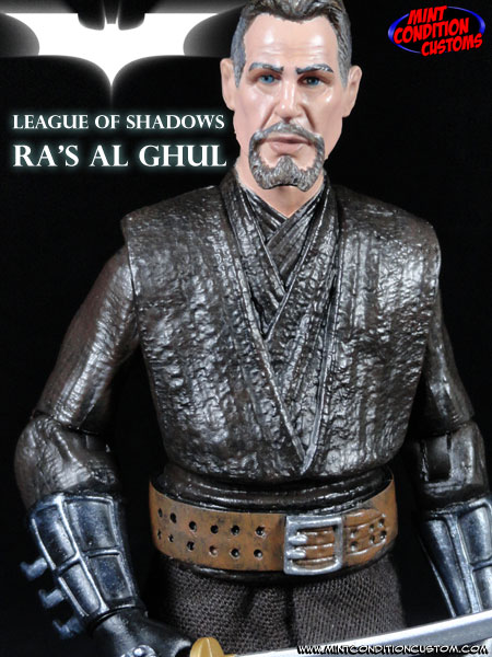 Ra's Al Ghul League of Shadows (Movie Style) DC Universe 6