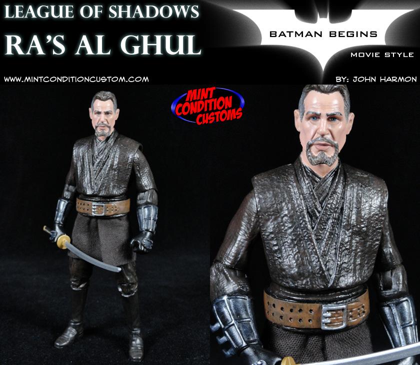 Ras Al Ghul League Of Shadows Movie Style Dc Universe 6 Custom