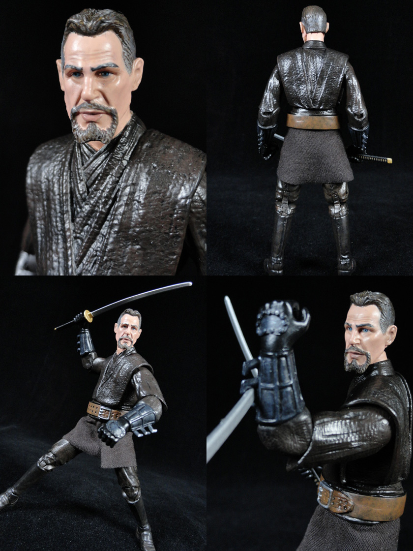 "Ra's Al Ghul League of Shadows (Movie Style) DC Universe 6"" Custom Action Figure"