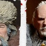 NECA Hateful Eight Action Figures Previewed