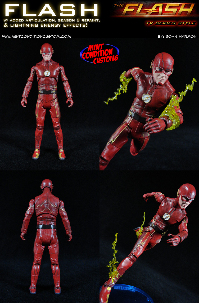 The Flash TV Series Season 2 DC Universe Custom Action Figure
