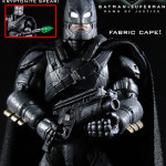New Custom Figures – Armored Batman with Light Up Eyes and Movie Repaint Batman!