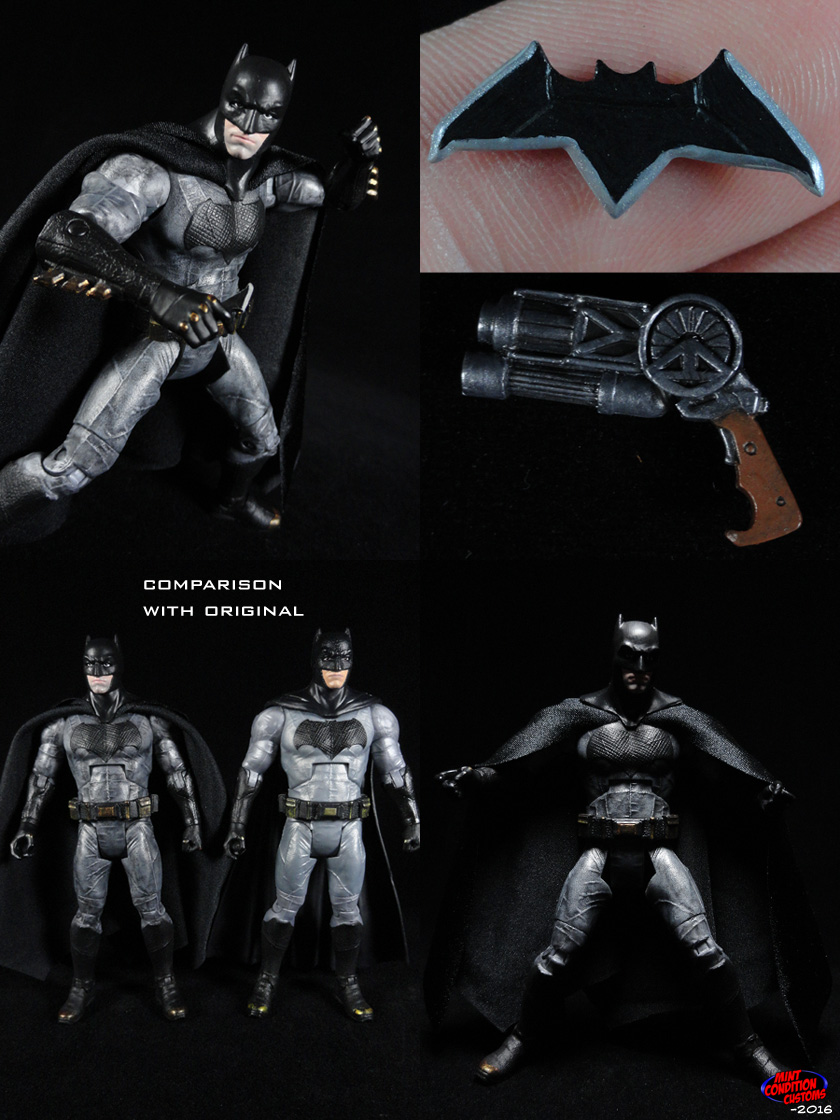 Batman (Batman v Superman Movie Style) DC Universe Custom Action Figure