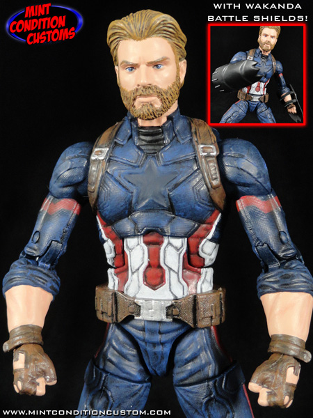 Captain America Avengers Infinity War Marvel Legends Custom Action Figure