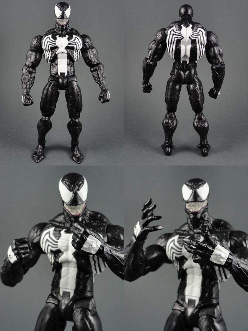 Custom Eddie Brock Venom (Super Posable) w/ Multiple ...